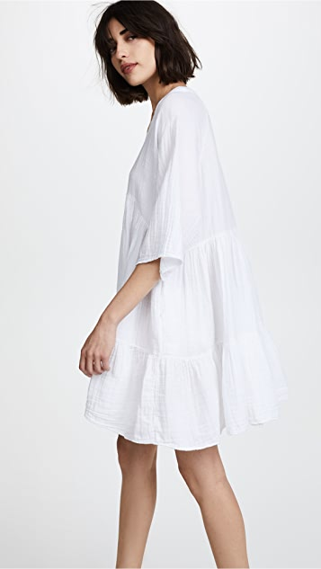 9seed Marbella 荷叶边连衣裙