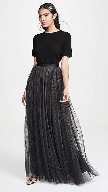 Needle & Thread Dotted 薄纱半身长裙