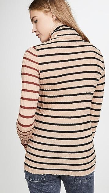 NUDE 高领毛衣