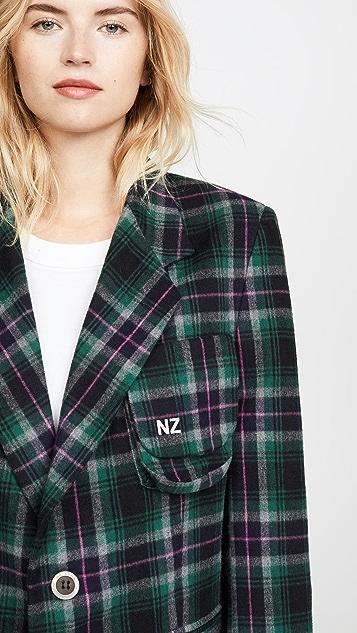 Natasha Zinko 超大格子外套