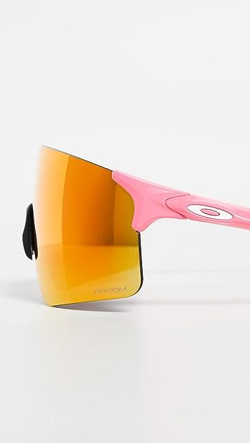 奥克利白 EVZero Blades 太阳镜