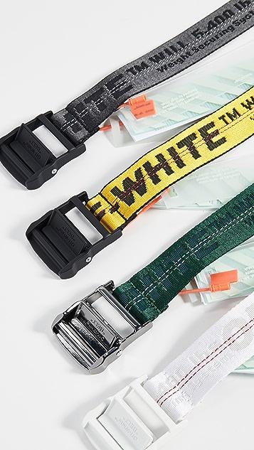 Off-White 经典工业风腰带