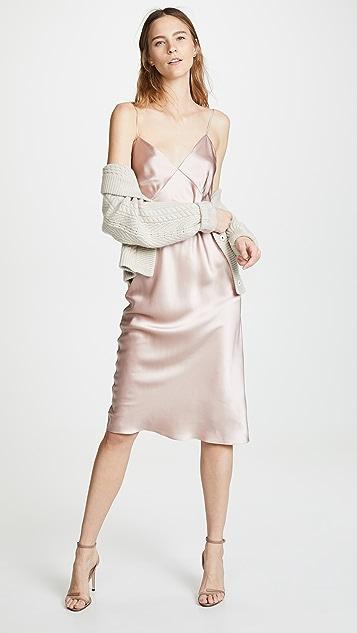 Olivia von Halle Issa Oyster Core 衬裙