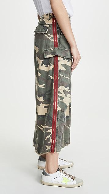 ONE by Danang The Original 军旅风格半身长裙
