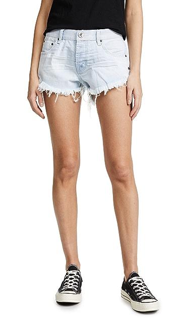 One Teaspoon Brandos 休闲版型短裤