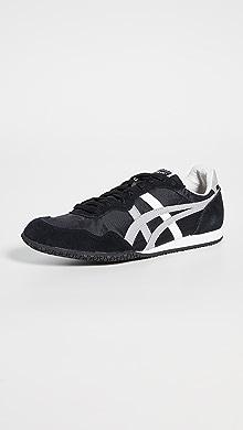 오니츠카 타이거 Onitsuka Tiger Serrano Sneakers,Blk/Lt Grey/Wht
