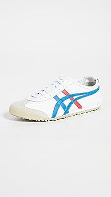 오니츠카 타이거 Onitsuka Tiger Mexico 66 Sneakers,White/Blue