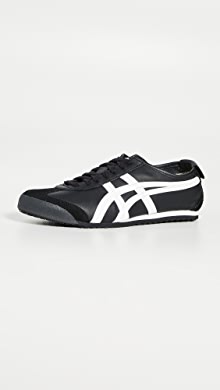 오니츠카 타이거 Onitsuka Tiger Mexico 66 Sneakers,Black/White