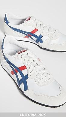 오니츠카 타이거 Onitsuka Tiger Serrano Sneakers,Vaporous Grey/Dark Blue