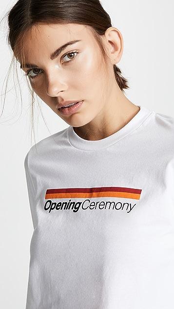 Opening Ceremony OC 图案 T 恤