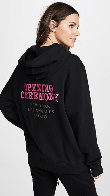 Opening Ceremony 男/女连帽上衣