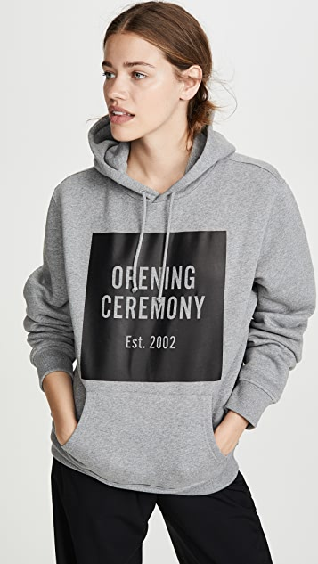 Opening Ceremony OC Box 标志连帽上衣