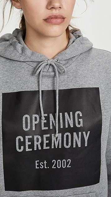 Opening Ceremony OC Box 标志连帽上衣