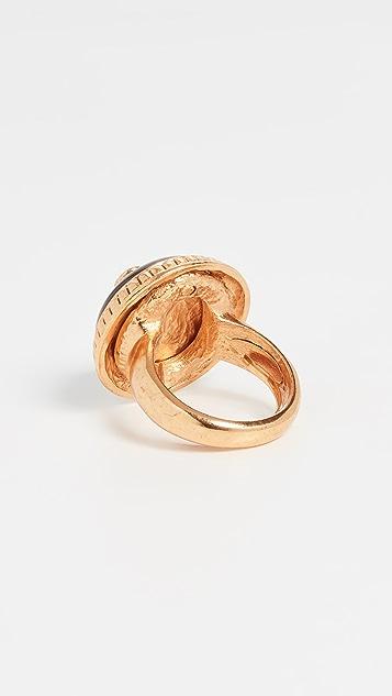 Oscar de la Renta 多色圆片戒指