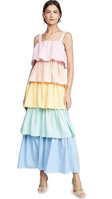 Olivia Rubin Rainbow Mimi 连衣裙