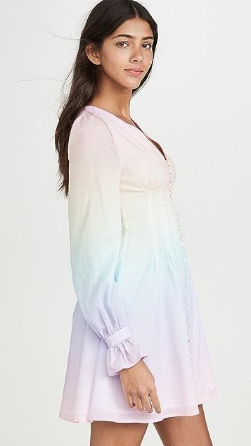 Olivia Rubin Plum 连衣裙