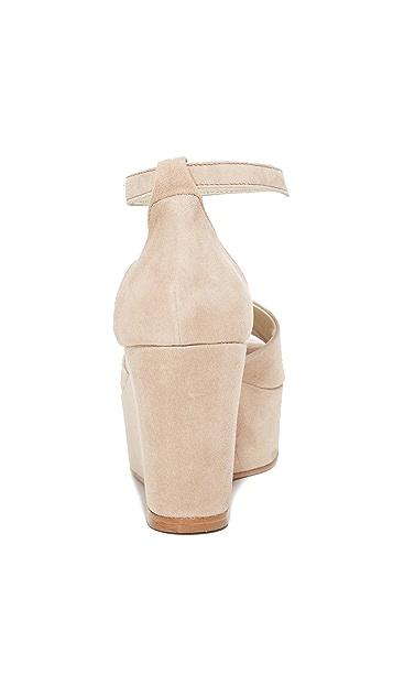 Ouigal Viola 厚底坡跟鞋