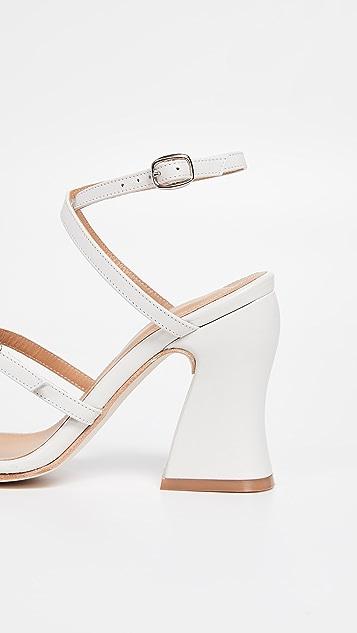 The Palatines Dalia 弧形后跟凉鞋