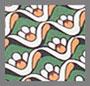 复古苔藓色睡莲