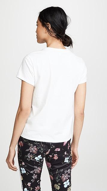Pam & Gela New Wave 徽标 T 恤