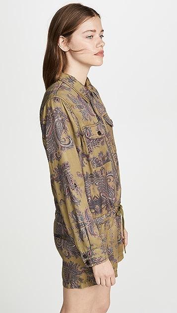 Pam & Gela 贴袋短款连身衣