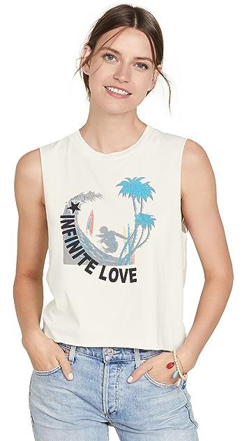 Pam & Gela Surf Cali 标志健美 T 恤