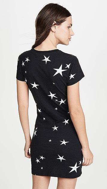 Pam & Gela 星星 T 恤式连衣裙