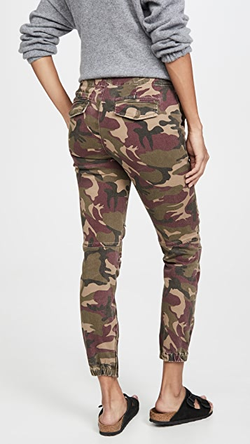 Pam & Gela 工装弹性裤脚长裤