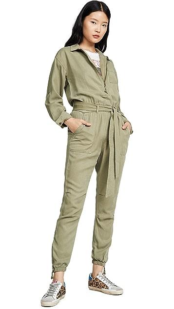 Pam & Gela 前拉链连身衣