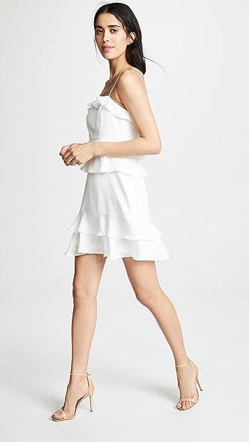 Parker Kristie 拼接连衣裙