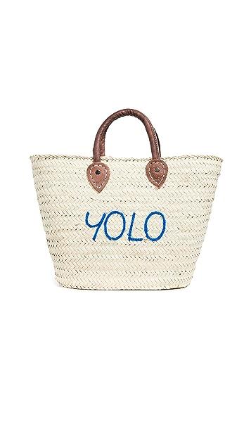 Poolside Bags Le Superette 'Yolo' 中号手提袋