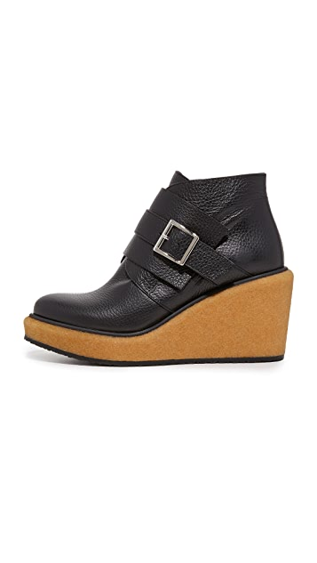 Paloma Barcelo Delaware 厚底短靴