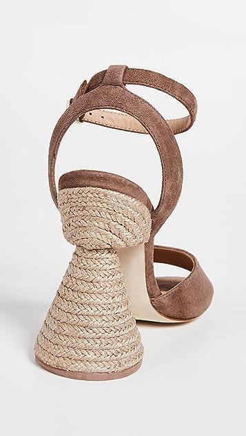 Paloma Barcelo Bilitis 圆锥鞋跟凉鞋