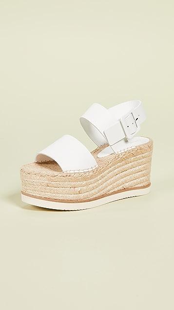 Paloma Barcelo Matsuko 编织底便鞋