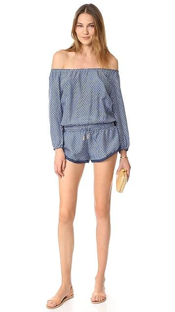 PALOMA BLUE Hamptons 短款连身衣