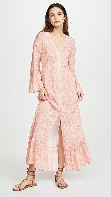 PALOMA BLUE Willow 罩衫连衣裙