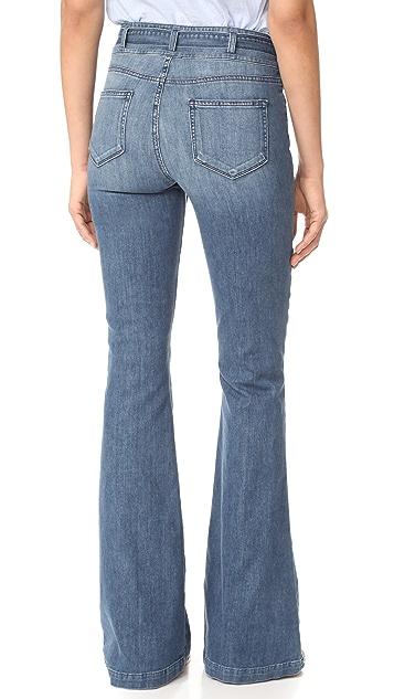PAIGE Chandler 喇叭牛仔裤