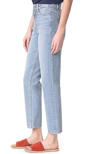 PAIGE Sarah 直脚牛仔裤