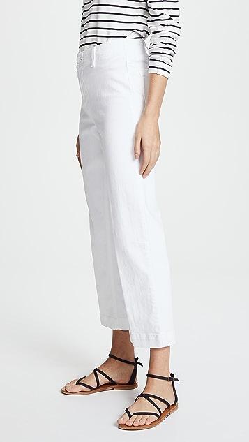 PAIGE Nellie 裙裤式牛仔裤