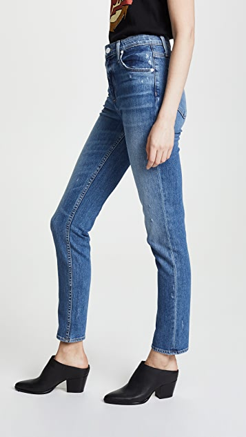 PAIGE 高腰 Sarah 修身牛仔裤