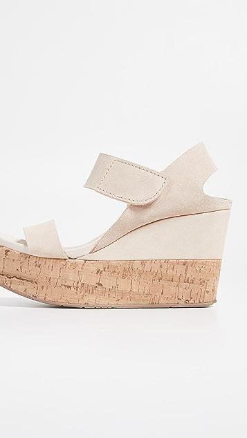 Pedro Garcia Daire 厚底坡跟凉鞋