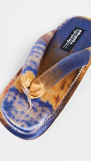 Pedro Garcia x Raquel Allegra Kaname 夹趾凉鞋