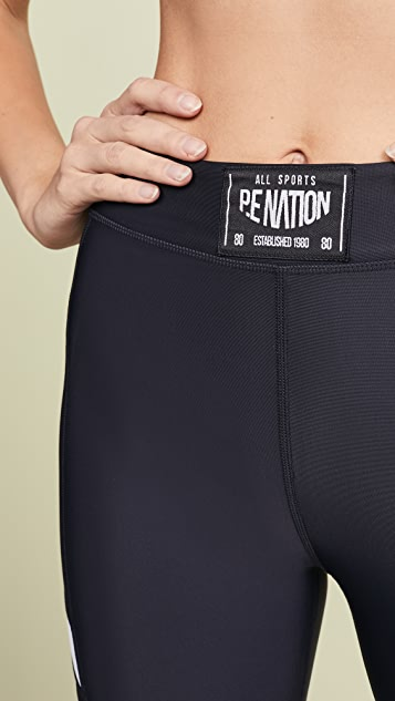P.E NATION Razor 贴腿裤