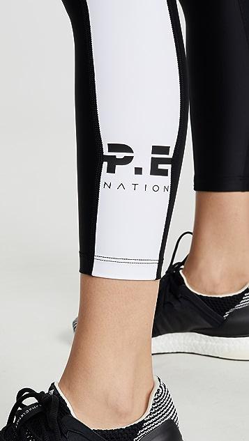P.E NATION First Limit 紧身裤