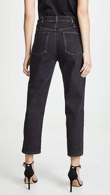 3.1 Phillip Lim 拉链直筒牛仔裤