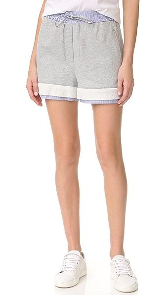 3.1 Phillip Lim 毛圈布短裤