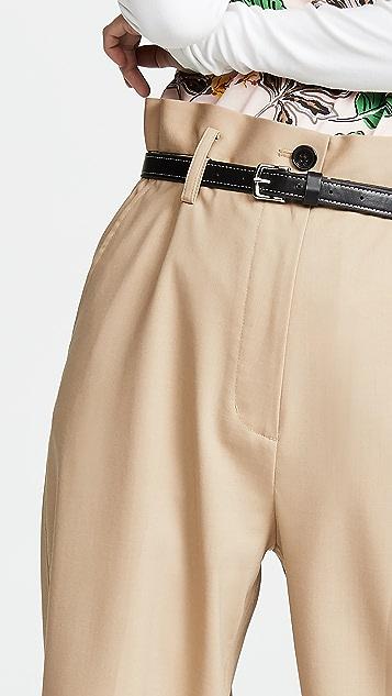 3.1 Phillip Lim 纸包羊毛中长裤
