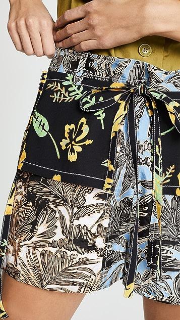 3.1 Phillip Lim 拼缝短裤