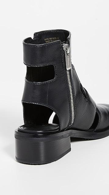 3.1 Phillip Lim Alexa 40mm 镂空靴子