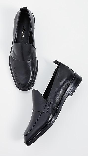3.1 Phillip Lim Alexa 25mm 浅口船鞋